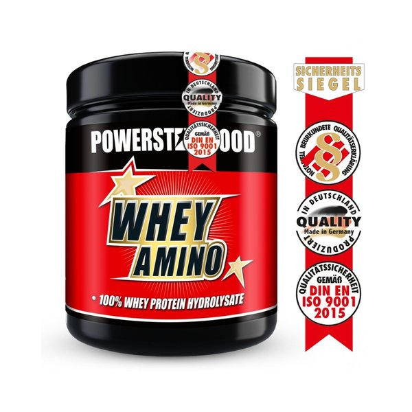 WHEY AMINO - 100% Whey Hydrolysat - 500 Tabletten - Powerstar Food