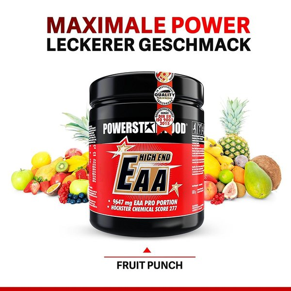 EAA HIGH END - Essentielle Aminosäuren EAA Pulver - 600g